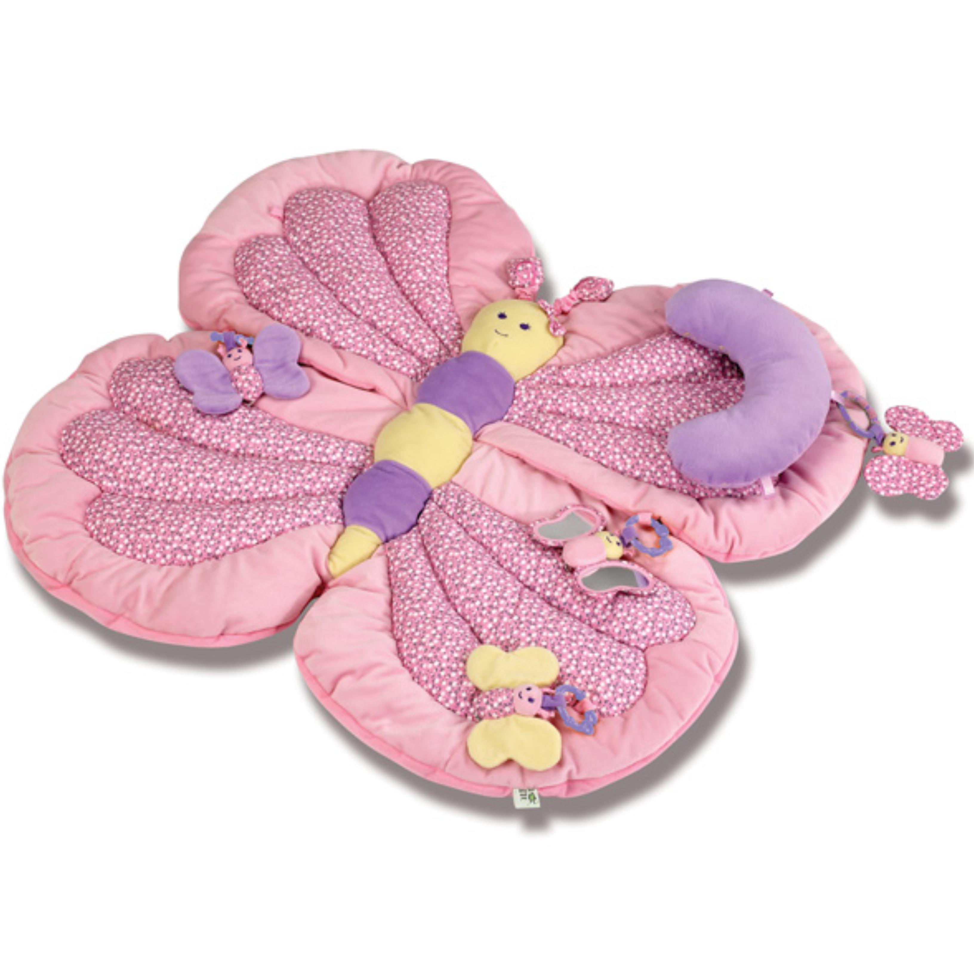 Little Bird Told Me Billowy Butterfly Playmat Gym│kids