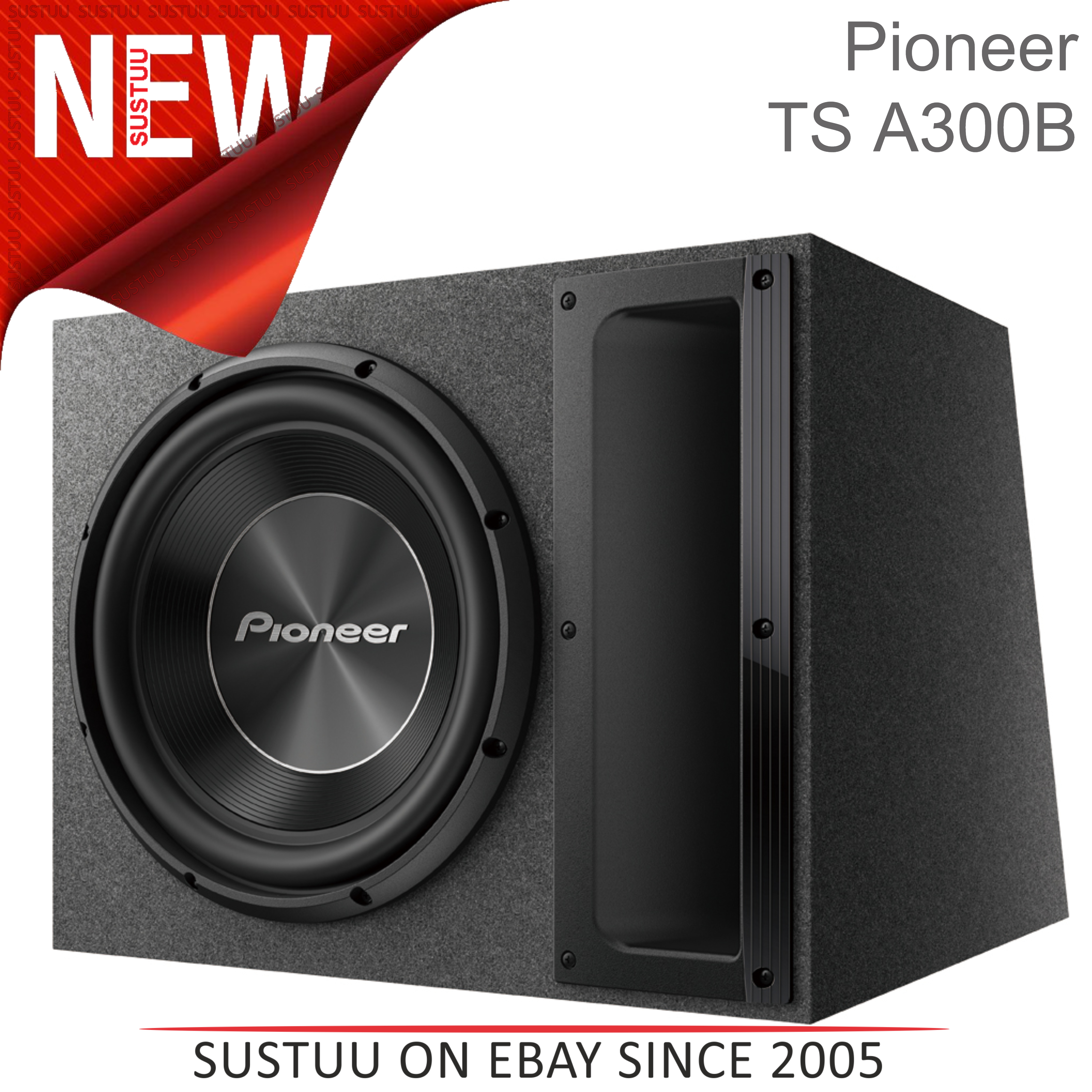 pioneer a serie auto subwoofer bass box geh use 12. Black Bedroom Furniture Sets. Home Design Ideas