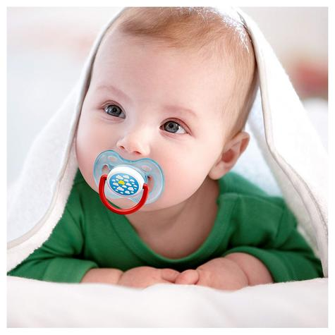 Avent Dynamic Orthodontic Baby Soother Pacifier Dummy Fashion Silicone Teat Thumbnail 7