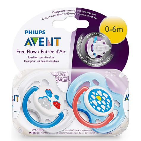 Avent Dynamic Orthodontic Baby Soother Pacifier Dummy Fashion Silicone Teat Thumbnail 8