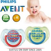 Avent Dynamic Orthodontic Baby Soother Pacifier Dummy Fashion Silicone Teat-Cars