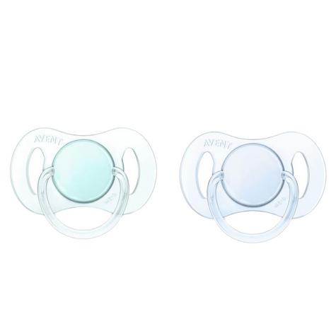 Philips Avent Baby Mini Orthodontic Dummy Pacifier Silicone Teat Soother G/B Thumbnail 2