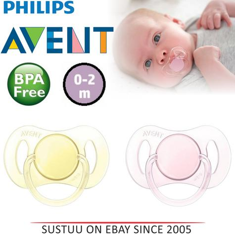 Philips Avent Baby Mini Orthodontic Dummy Pacifier Silicone Teat Soother  Y/P Thumbnail 1