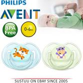 Philips Avent Classic Baby Animal Silicon Soother Dummy 0-6m BPA Free