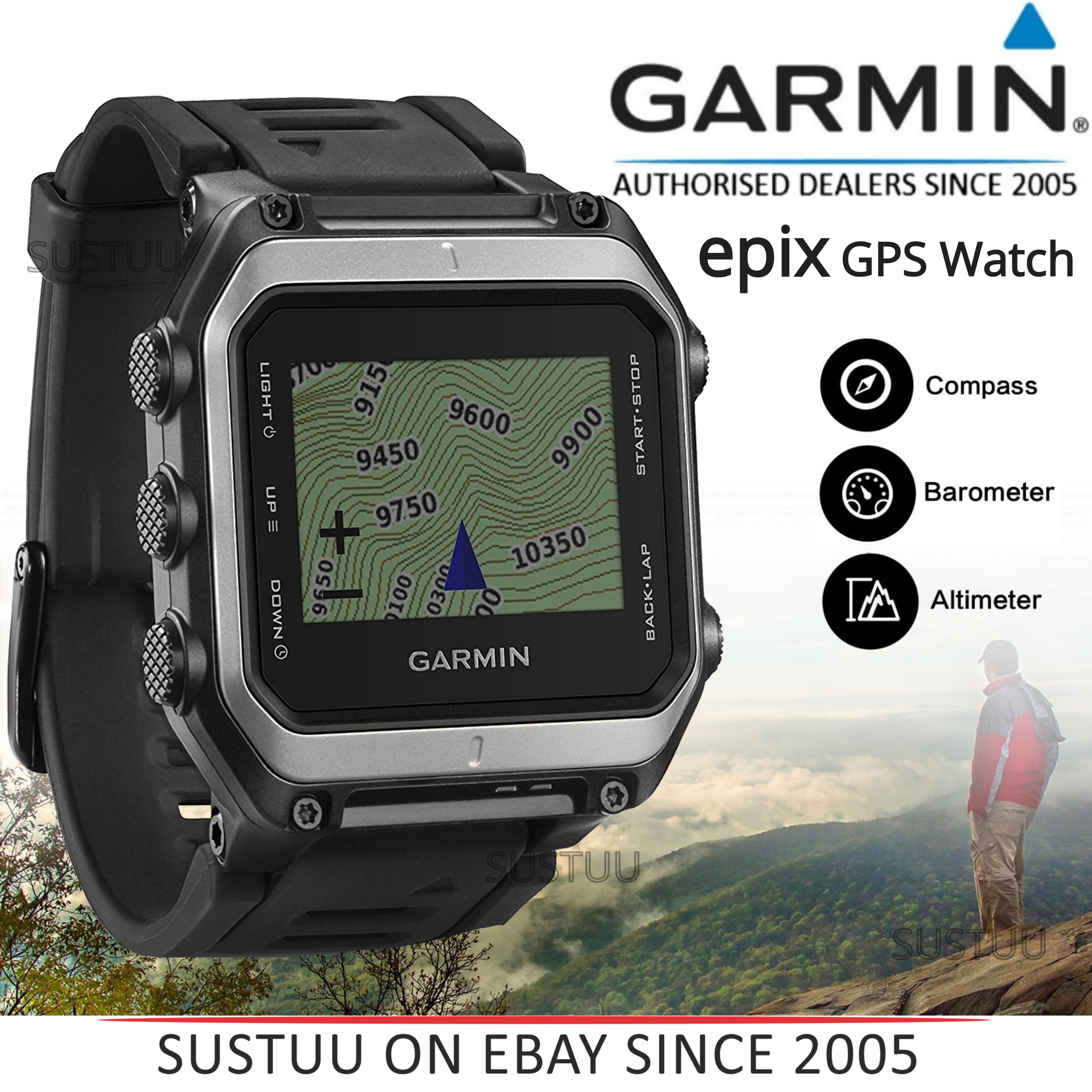 Garmin Epix GPS Outdoor Altimeter Barometer Smart ABC Watch
