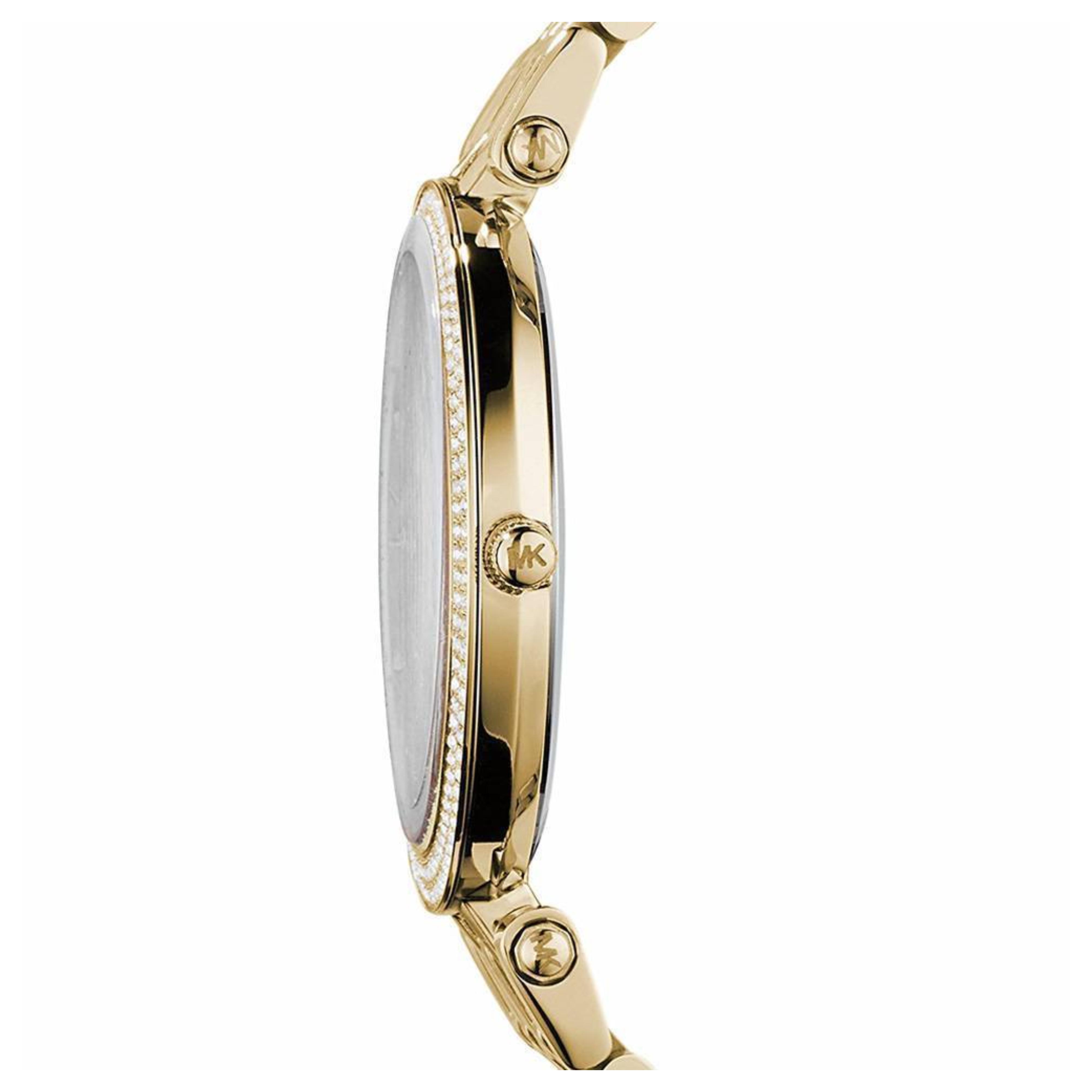 b77c902c933 Sentinel Michael Kors Darci Women s Watch│Gold Sunray Dial│Gold Tone  Bracelet Band│MK3368