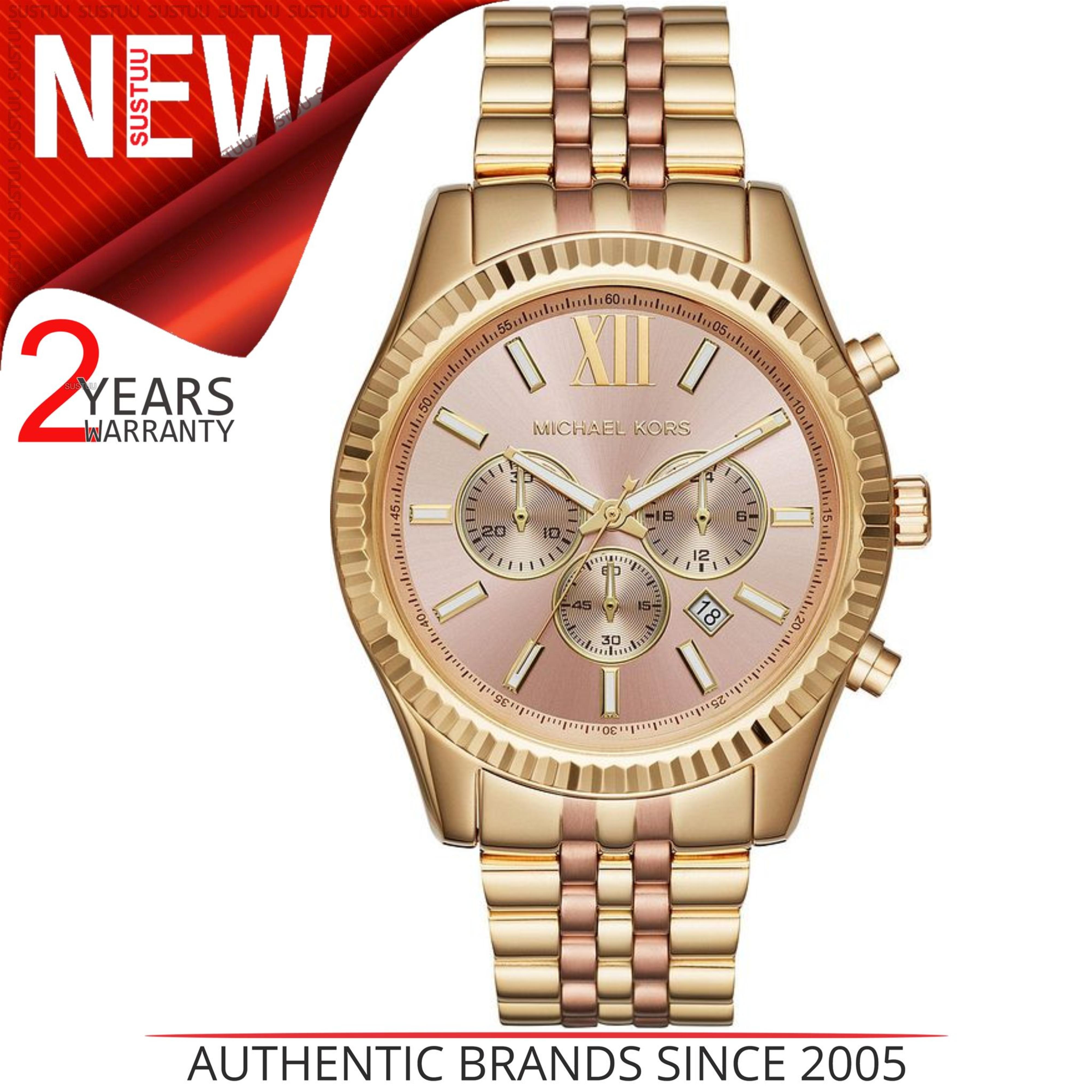 Details about Michael Kors Lexington Rose Gold Dial Ladies  Watch│Chronograph│Gold Strap│MK6473 1b1c61cb5f5
