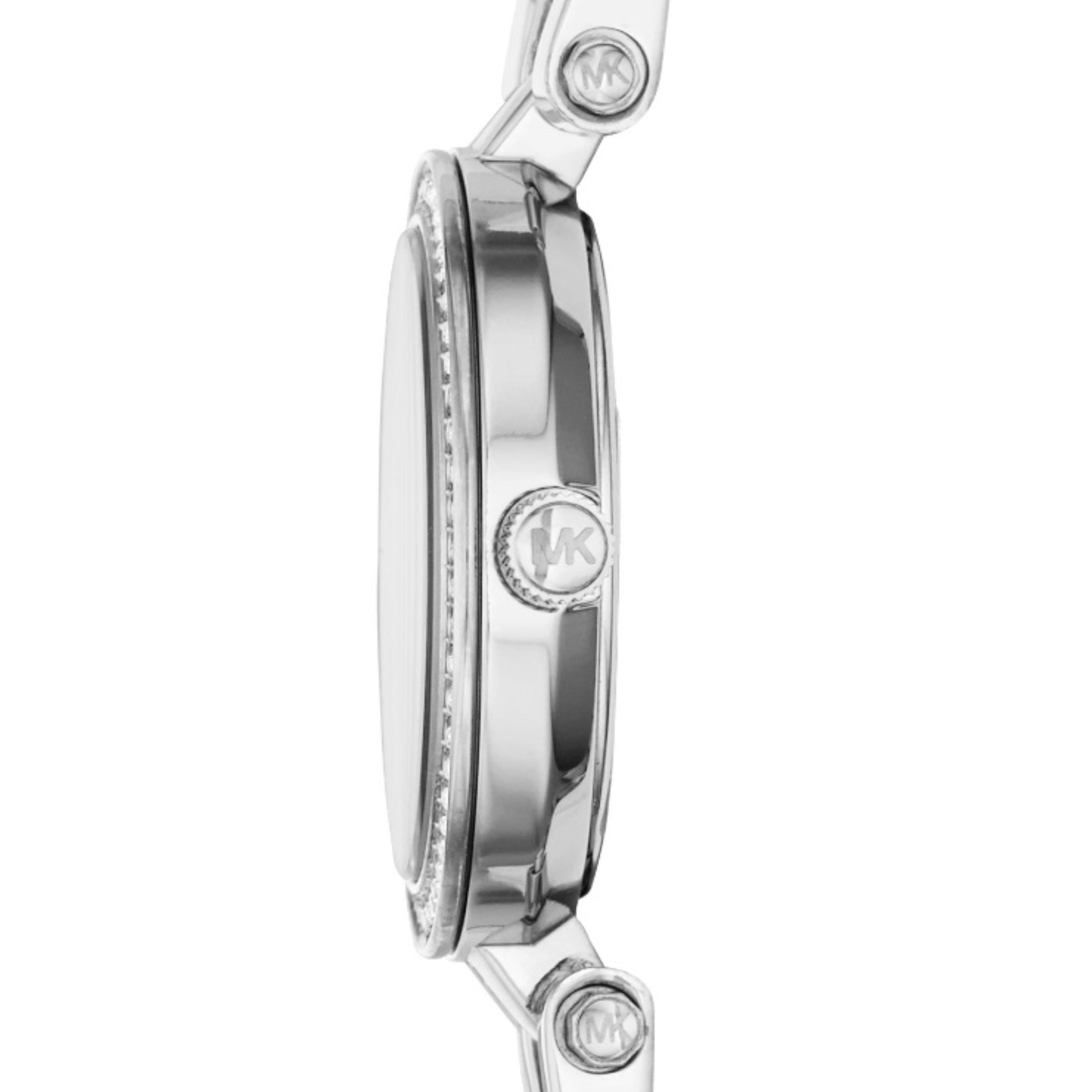 Sentinel Michael Kors Petite Darci Women s Watch│Round Dial│Silver Bracelet  Band│MK3294 d32a92e799