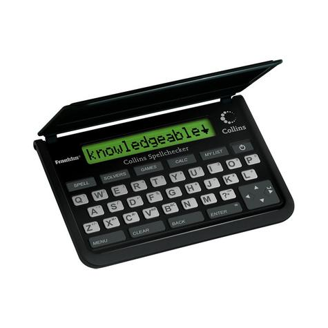 Franklin SPQ109 Collins Pocket Speller Electronic Spell Checker Crossword Solver Thumbnail 2