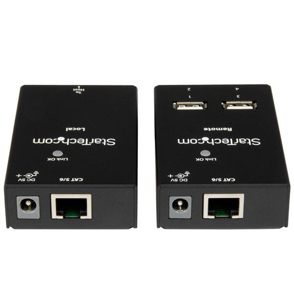 Ethernet Cable Cat 5 V Cat 6: StarTech.com 4 Port USB 2.0 Over Cat5 / Cat6 Extender- 50m?RJ45 rh:ebay.com,Design