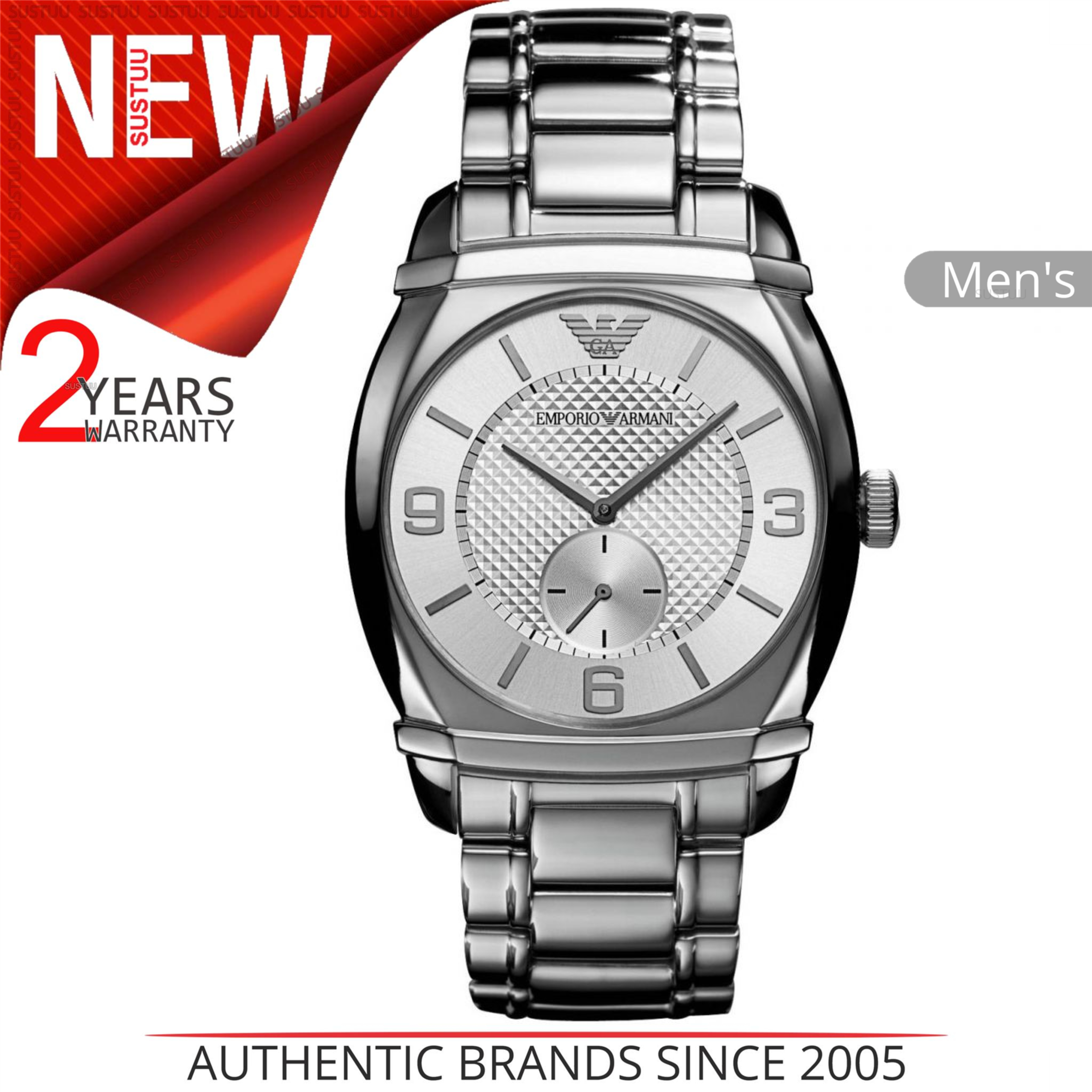 2b6de1a9cc4c Sentinel Emporio Armani Classic Men s Luxury Watch AR0339│Chronograph  Dial│Bracelet Band│