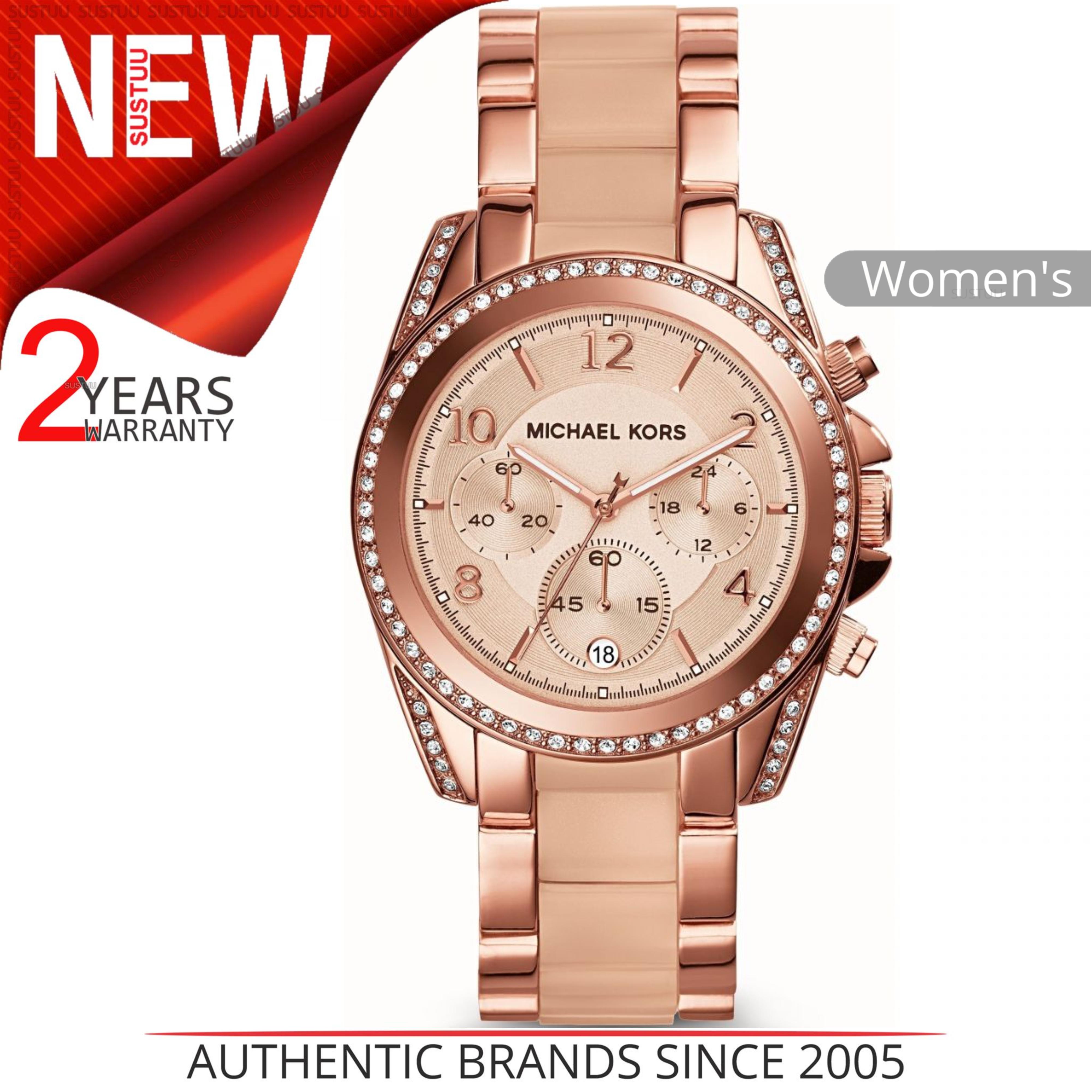 d9edf1b96e3a8 Sentinel Michael Kors Blair Ladies  Watch│Chrono Dial│Rose Gold   Acetate  Bracelet│