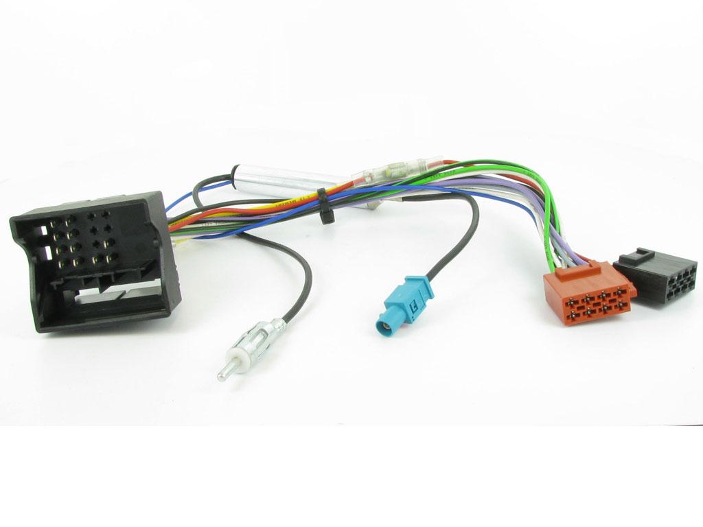 NEW C2 20CT03/20PE03 40 Way Harness ISO Adaptor Lead For Citroen/Peugeot