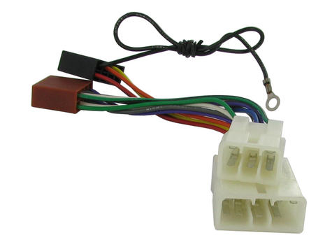 NEW C2 20MT01 ISO Wiring Harness Adaptor For Mitsubishi Galant/Colt/Lancer/L200 Thumbnail 1