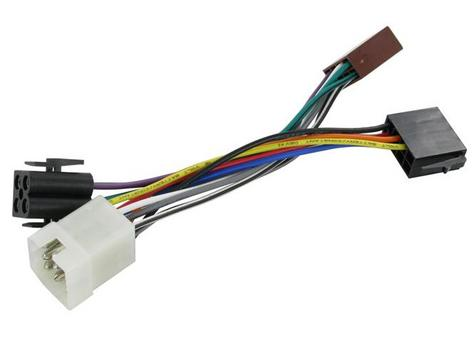 NEW C2 20VL03 ISO Wiring Harness Adaptor For Volvo 740/760/240/340/440/480/244/2 Thumbnail 1