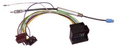 NEW C2 20VW02 ISO Wiring Harness Adaptor For volkswagen Passat/Touareg/Jetta Thumbnail 1