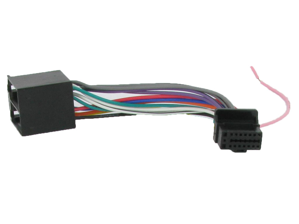 C2 21al01 Wiring Harness Adaptor Power Lead Fits Alpine 16 Pin To Schematic Iso Cda 9812rb