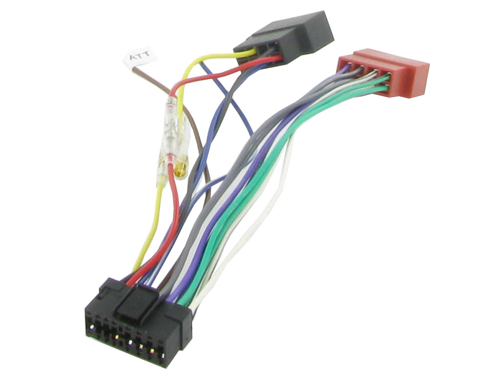 Sony Car Stereo Wiring Harness Opinions About Diagram Radio C2 21so01 16 Pin Iso Lead 1year Warranty Sustuu
