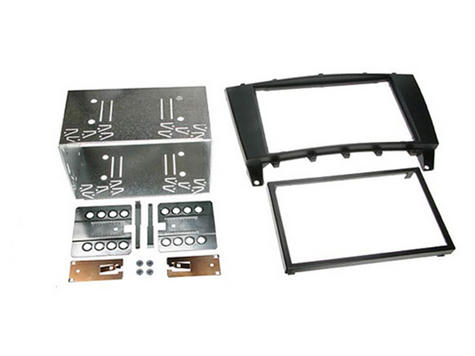 C2/Autoleads 23MB03 | In Car Double DIN Facia KIT | Fits Mercedes C-Class[W203/CLC] Thumbnail 1