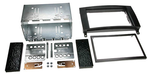 NEW C2 23VW02 Double DIN Car Stereo Fascia Plate Adaptor Kit For VW Crafter 2006