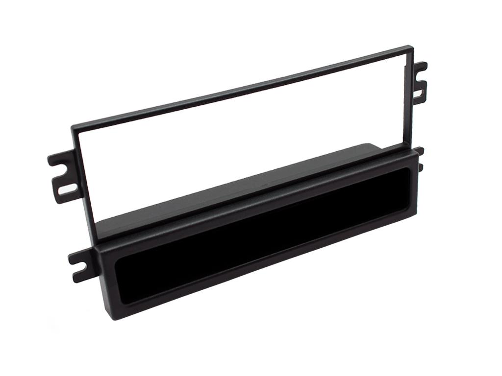 C2 24KI04 Single Din Car Stereo Fascia Adaptor Plate For Kia Carens II 10/2004>