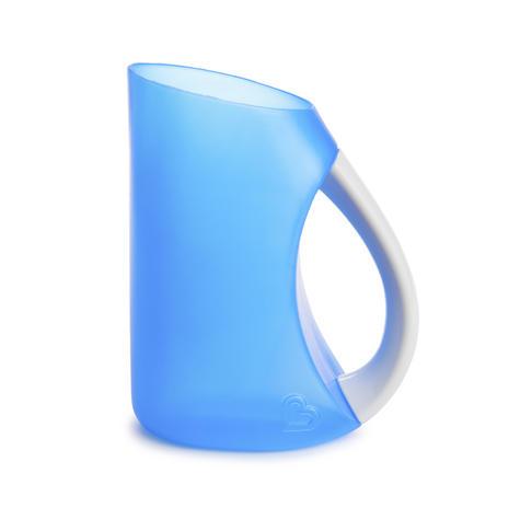 Munchkin Kids Soft Rim Flexi Tear-free Bath Time Shampoo Rinser Child Cup Blue Thumbnail 2