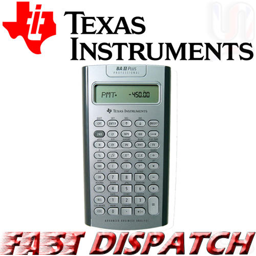 Office Advance Business Analyst Financial Calculator Comfortable And Easy To Wear Ti Texas Instruments Ba Ii Plus 2 Calculators