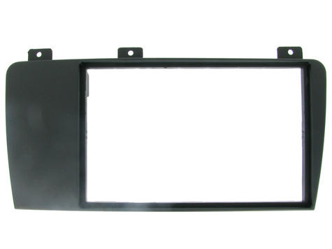 NEW C2 24VL07 Double Din Black Car Stereo Fascia Adaptor Plate For Volvo V70/S60 Thumbnail 1
