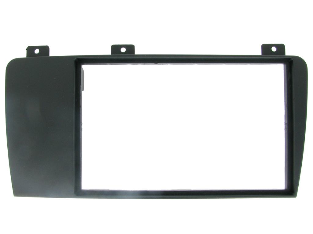 NEW C2 24VL07 Double Din Black Car Stereo Fascia Adaptor Plate For Volvo V70/S60