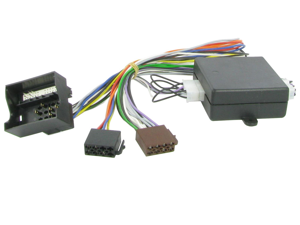 C2 51AU04 T-Harness ISO Adaptor Lead For Audi With Active Amps - Speaker 2008>