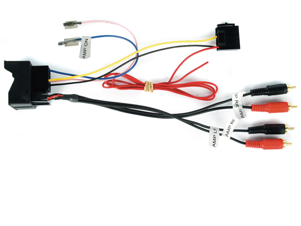 NEW C2 51AU05 Interface For Audi With Active Amps - Speaker