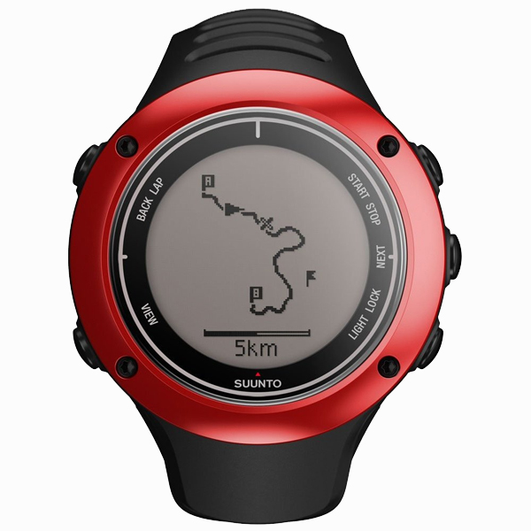 Suunto Ambit2 S Red Hr Gps Sports Watch With Heart Rate Monitor