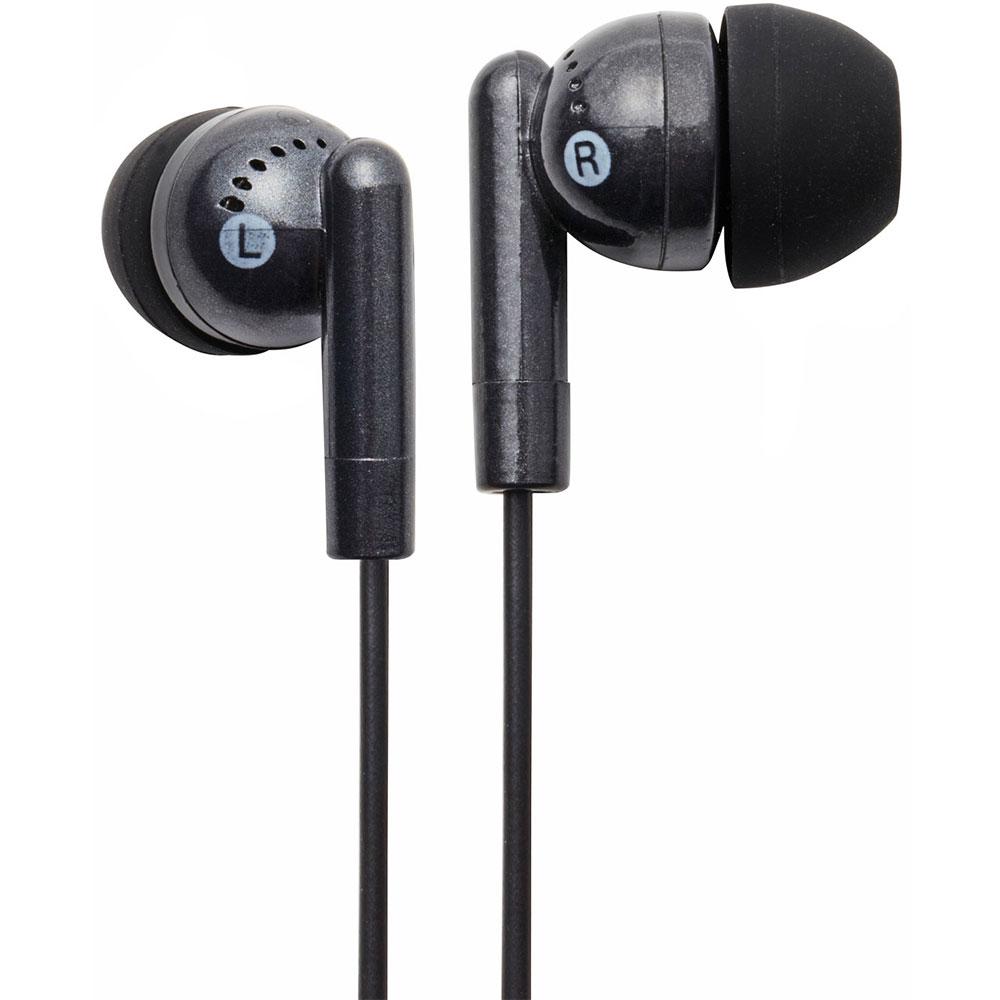 NEW Groov-e GVEB3BK Kandy Stylish Earphones for Apple Android Smartphones Black