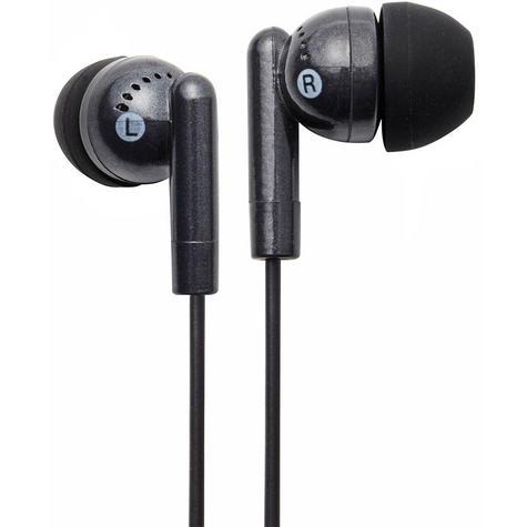 NEW Groov-e GVEB3BK Kandy Stylish Earphones for Apple Android Smartphones Black Thumbnail 1