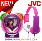 JVC HAKD5P Tinyphones Kids Volume Limted Stereo Headphones For iPhone Mp3 - Pink