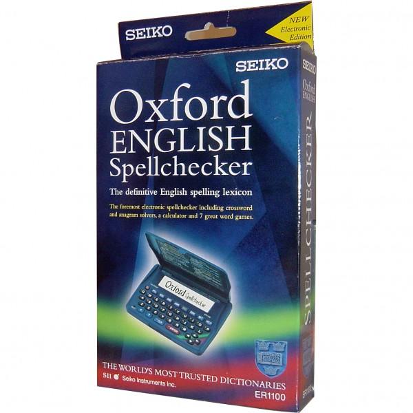 Seiko Concise Oxford Spellchecker ER1100