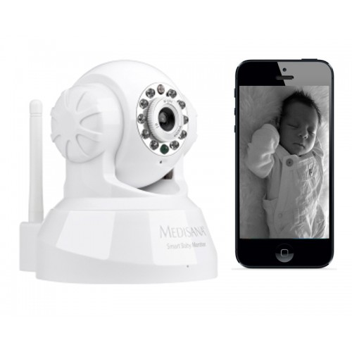 Medisana Smart Baby Monitor-Works with iPhone?iPad?Mac?Android Phones?PC