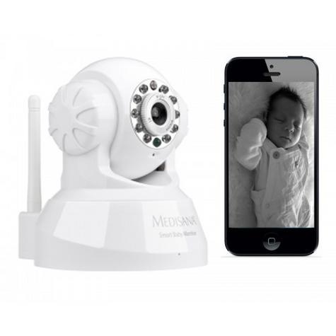 Medisana Smart Baby Monitor-Works with iPhone?iPad?Mac?Android Phones?PC Thumbnail 5
