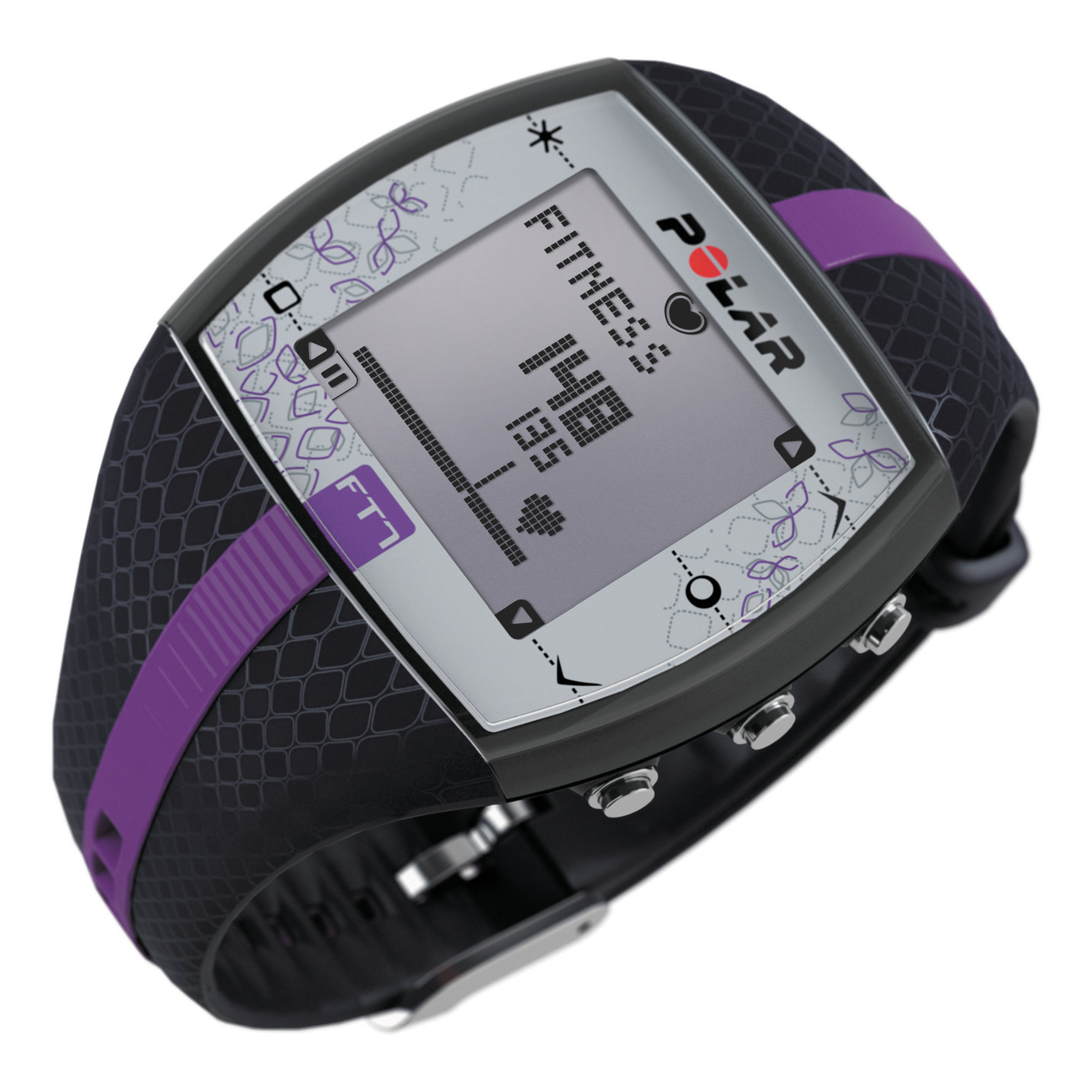 Polar Ft7 Jam Tangan Heart Rate Monitor Hrm Bluelilac Daftar Harga Adidas Adp 3235 Digital Black Watch Mens Ladies Sports Fitness Ft7m Ft7f