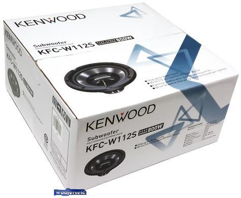 KENWOOD KFC W112S In car Sound Vehicle Audio Speaker Subwoofer Thumbnail 4