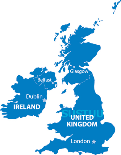 Garmin City Navigator NT UK IRELAND ROI Maps SD Card Map - Map of us and uk