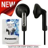 Panasonic Stereo Earphones for iPhone, Smart Phone, MP3 Player RP-HV094 Black