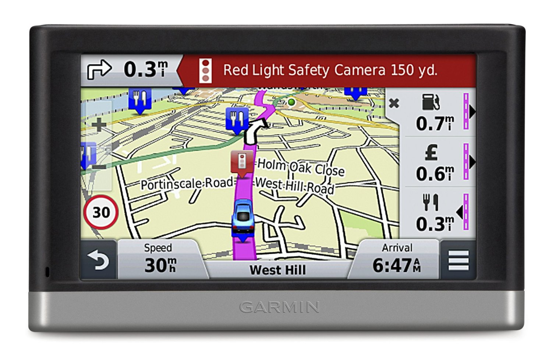 Garmin Nuvi Lmt  Gps Satnav Uk Europe Lifetime Map Traffic Updates Thumbnail