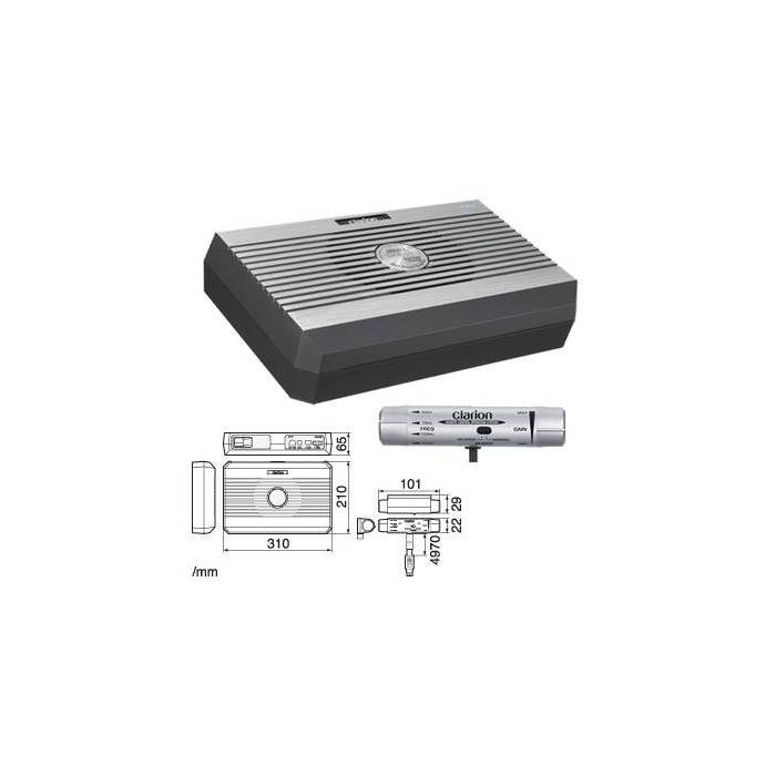 CLARION SRV 313 In car Sound Vehicle Audio Speaker Subwoofer