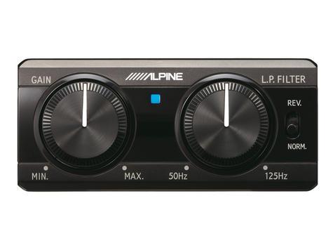 ALPINE SWE 1200 POWERED SUB In car Sound Vehicle Audio Speaker Subwoofer Thumbnail 3