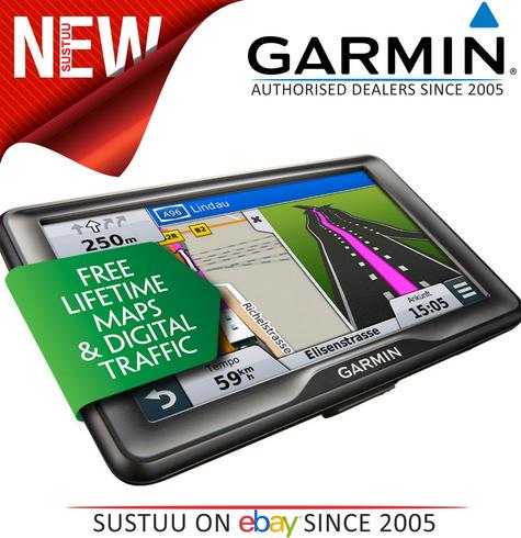 "Garmin Camper 760LMT-D 7"" Motorhome Caravan GPS Lifetime Maps & Digital Traffic Thumbnail 1"