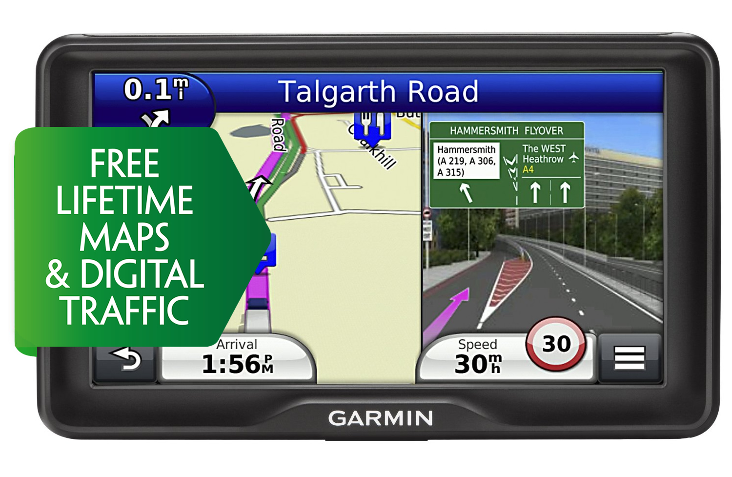 Garmin Dezl Lmt D Truck Hgv Gps Sat Nav Europe Maps Digital Traffic Updates