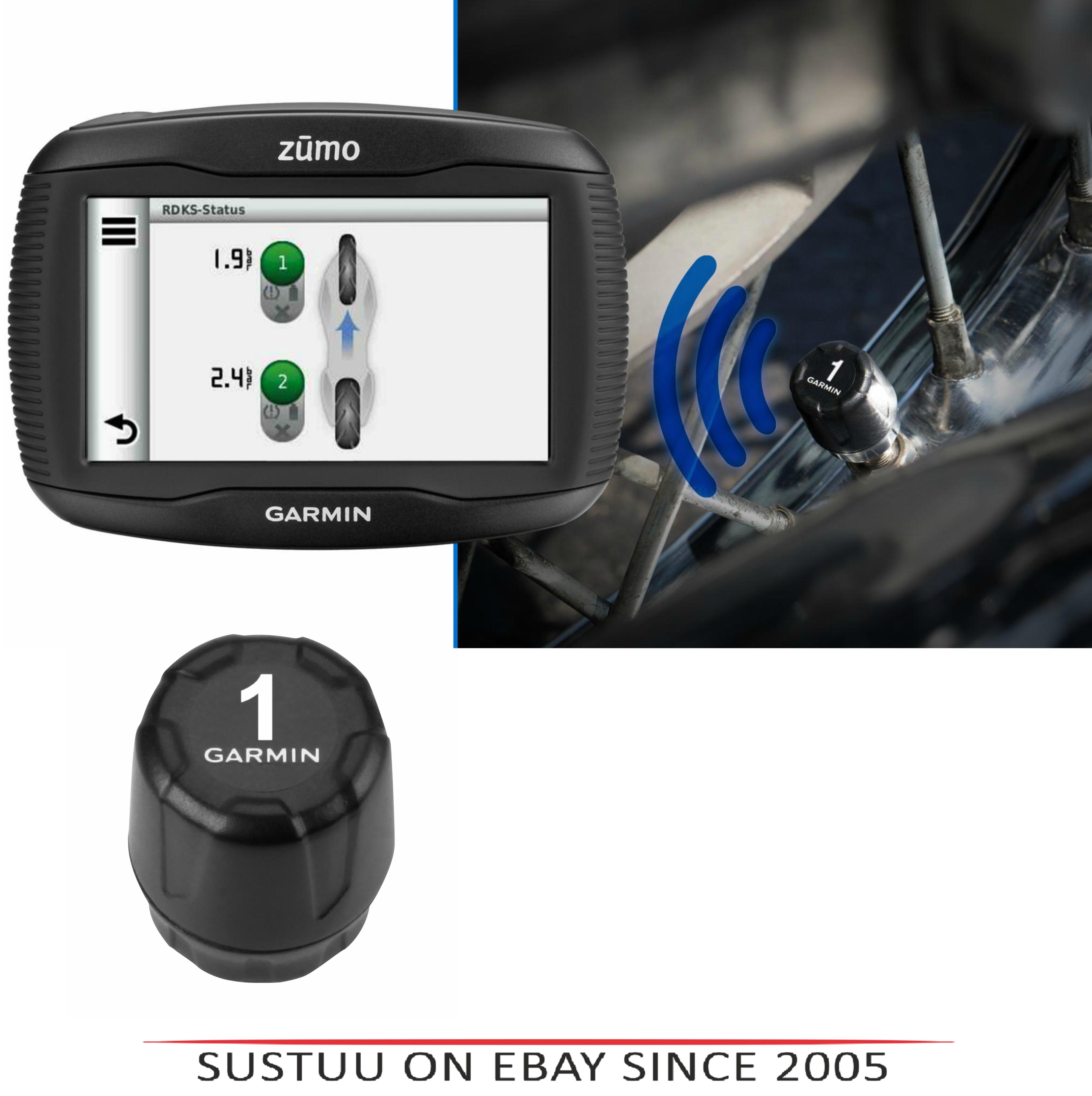 Garmin Tyre Pressure Sensor|Wireless Monitor|ForZumo345LM 390LM 395LM 590LM 595L