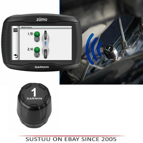 Garmin Tyre Pressure Sensor|Wireless Monitor|ForZumo345LM 390LM 395LM 590LM 595L Thumbnail 1