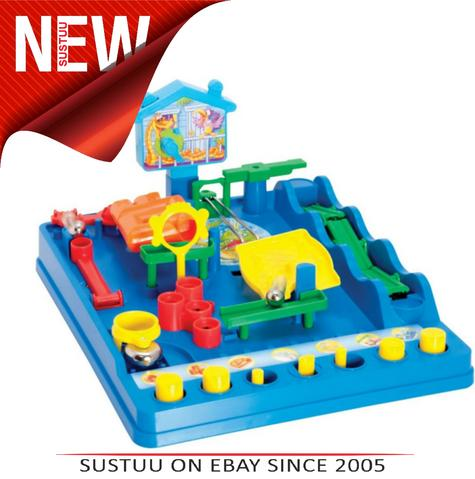 Tomy Scewball Marble Maze Scramble Game Baby Toddler Kids Children Toy Play Time Thumbnail 1